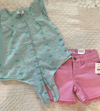 Crown & Ivy Kids Girls Size 7 Summer Outfit Nwt/Nwot