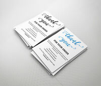 Thank You For Your Order Compliment Cards eBay / Etsy / Amazon - Script  [A6]