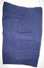"MEN'S/WOMEN' SHORTS**WEAR GAURD**SIZE 34"" CARGO PLEATED FRONT**NEW WITHOUT TAGS"