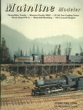 Mainline Modeler Magazine February 1996 Branchline Trestle, Western Pacific NW2