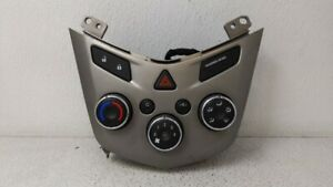 2012-2012 Chevrolet Sonic Ac Heater Climate Control 95076687 95332699 89127