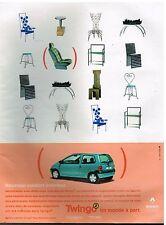 Publicité Advertising 1998 Renault Twingo 2