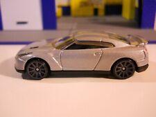"Hot Wheels - 1/64 - 2009 Nissan GT-R - Silver - ""Loose"" - Nice"