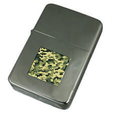 Engraved Lighter Army Camouflage