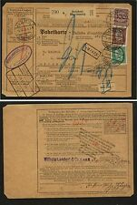 Germany  nice  parcel   card    1931        KL0715
