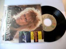 """DAVID BOWIE"""" LABYRINTH- disco 45 giri EMI Italy 1986"""" OST"""