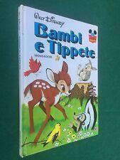 Walt Disney BAMBI E TIPPETE - IMPARO A LEGGERE CON TOPOLINO/24 (1982) Libro