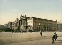 Berlin. Palais Kaiser Wilhelm I. P.Z. vintage photochromie photochromie, vinta