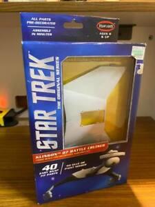 Star Trek D7 Klingon Battle Cruiser Model by Polar Lights -  New in Box