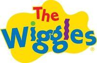 Wiggles logo edible Image cake decorating real icing sheet #180