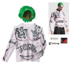 NEW Joker Suicide Squad Costume XL Teen  NWT 3 Pieces! Halloween