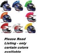 peel stick hook loop motorcycle helmet mohawk mohawks bmx helmets biker spikes