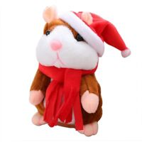 Talk Hampster Speak Record Voice Plush Funny Cheeky Talking Hamster Kids Toy hi