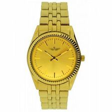 Gold Plated Band Women's Not Water Resistant Wristwatches