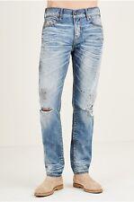True Religion mens Rocco Skinny Cable Stitch Jeans 30  NWT