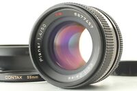 【NEAR MINT w/ Hood】 CONTAX Planar 50mm f/1.4 Lens MMJ C/Y Mount w/ Hood JAPAN