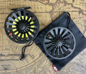 Redington Behemoth Fly Reel & Extra Spool, 7/8, Black