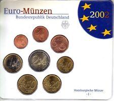 ALLEMAGNE Coffret 8 Pièces d'Euro  BU 2002 - Atelier J