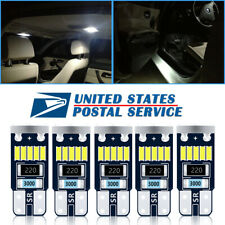 5x White Roof Cab Marker Clearance LED Bulbs Lights for 2003 - 2009 Hummer H2