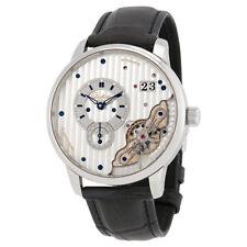 Glashutte PanoMaticInverse Galvanized Dial Automatic Mens Watch 1-91-02-02-02-50