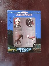 National Lampoon Christmas Vacation 4-Pack Shot Glasses for sale!!!