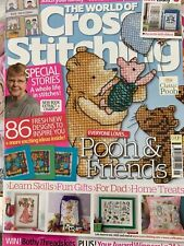 Issue 163 The World of Cross Stitching Magazine 86 Designs  BR644