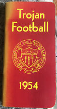 1954 USC Trojans FOOTBALL Press Guide 1955 Rose Bowl Team 56 Pgs. Univ. So Cal