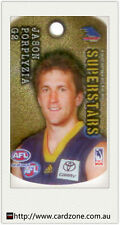 2010 Select AFL Stars Collectable Tags Gold Tag G2 Jason Porplyzia (Adelaide)