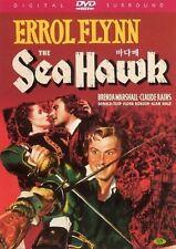 The Sea Hawk-  All Region Compatible DVD Errol Flynn, Brenda Marshall NEW DVD