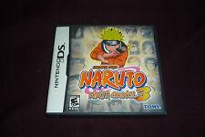 Naruto: Ninja Council 3 (Nintendo DS, 2007)  COMPLETE