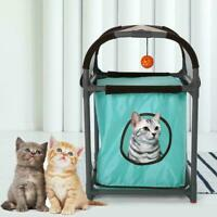 Multifunction Cat Tree Pet Cat Bed House Tunnel Hanging Cat House Toy Cat Condo