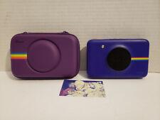 Polaroid Snap POLSP01 Instant Digital Camera + 9 sheets ZINK Paper -Zero Ink 2x3