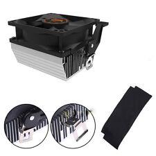 CPU Cooling Fan Silent Heatsink Radiator Cooler for AMD754 939 940 Athlon64 5200