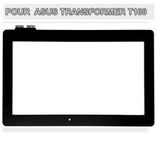 Vitre tactile pour ecran Asus Transformer Book T100, T100T couleur noir