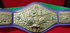 Purple, Red any color Strap WWWF Backlund Championship Title Wrestling Belt.