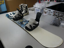 Burton Baron 155cm Snowboard w/ Flow MK2 Bindings & Vans 11 World Traveler boots