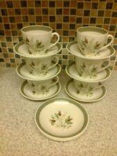 Cups & Saucers Vintage Original Alfred Meakin Pottery Tableware