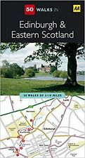 50 Walks in Edinburgh and Eastern Scotland by the AA (Paperback) New Book
