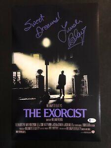 LINDA BLAIR Autographed The Exorcist 11×17 photo Sweet Dreams W/ Beckett COA