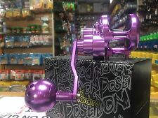Poseidon LEFT Hand Single Speed Multiplier Reel 300L Purple Black