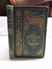 1880 JUNKER HAROLD'S PILGRIMSFART by BYRON 1st Danish Ed.   B620