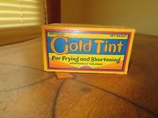 Vintage Butter Box Cold Tint For Frying & Shortening  Baltimore MD