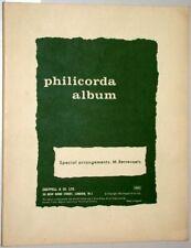 Berrevoets, M. (Special arrangements): Philicorda Album. (16 Lieder. Begleittext