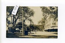 Saugus MA Mass RPPC real photo Cliftondale Square street view, drugstore, 1908