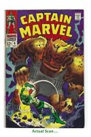 Marvel Comics Captain Marvel #6 Vol. 1 FN+ / VF- 1968 FREE COMBINED SHIPPING