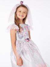 Halloween Gothic Bride Fancy Dress Hat Dressing up Costume H17