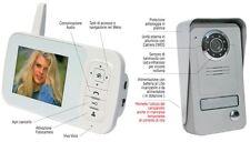 videocitofono wireless senza fili Cristal W24 STARK TELECO ottima comunicazione