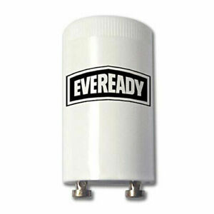 2 EVEREADY Fluorescent Starter 4-65W FSU 220-240V Tube Start FS-U