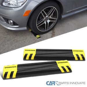 Parking Aid - 2 Garage Target Guide Tire Mat Stop Park