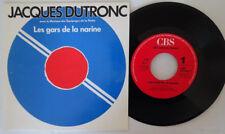 Jacques Dutronc les gars de la narine(discothéque RTL)45T-1990 MINT Vinyl -EX/EX